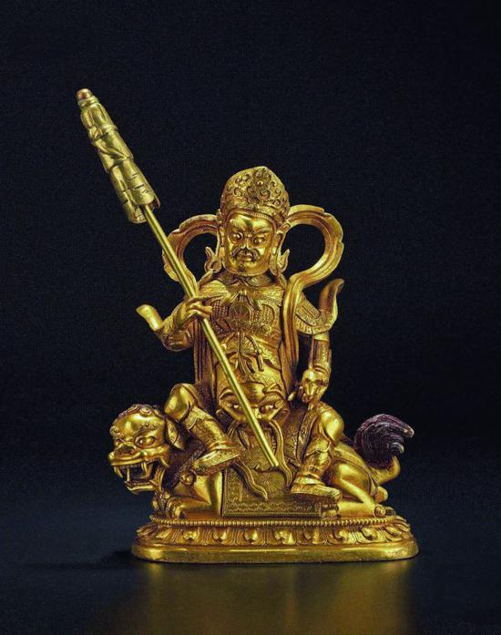 18世纪财宝天王像