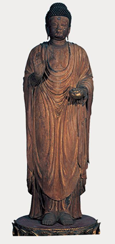 重要文化遗产 药师如来立像 平安时代(10世纪)京都春光寺藏