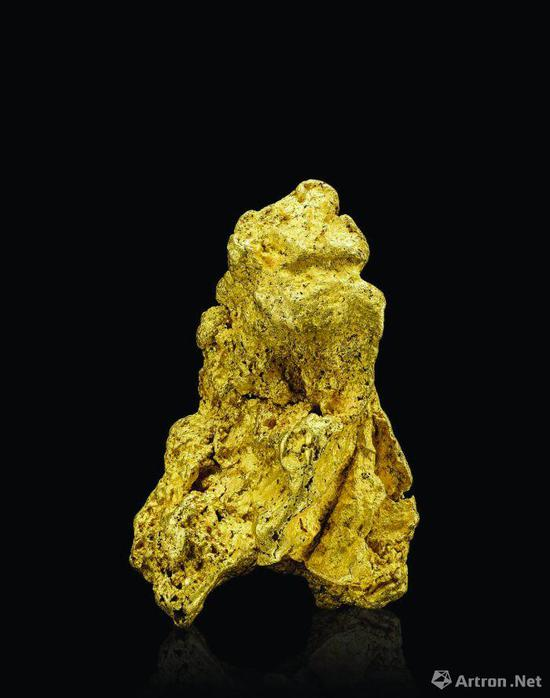 澳大利亚528克自然金,北京保利十二周年秋拍会获价26.45万元