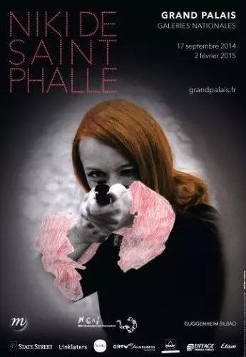 巴黎大皇宮博物館妮基-圣法勒回顧展覽海報