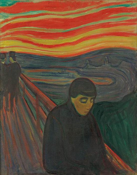 绝望 1894年 油彩、油画