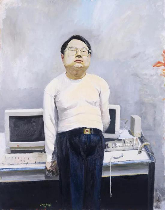 刘小东《电脑领袖》 4600万元 北京保利