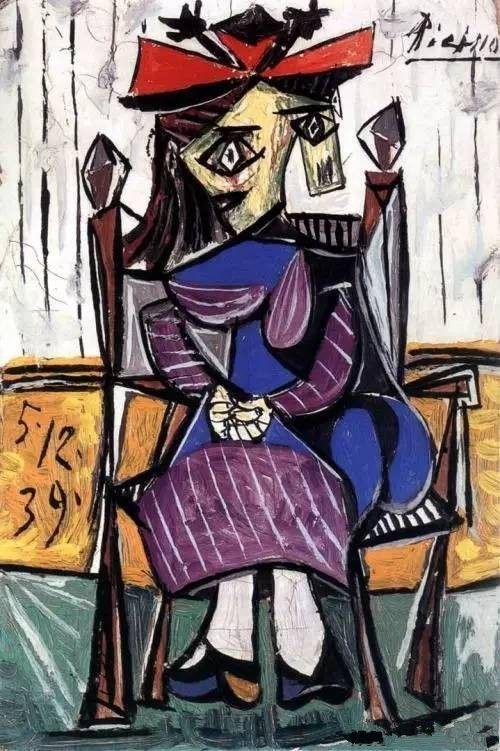 伊莱·布罗德藏的毕加索《怀孕的情人》