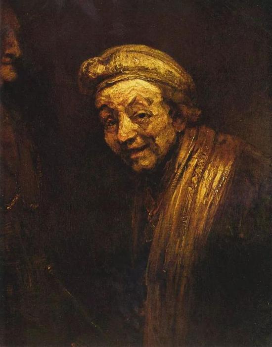 伦勃朗,《自画像》,布面油画 ,1662年,科隆瓦尔拉夫-理查尔茨博物馆