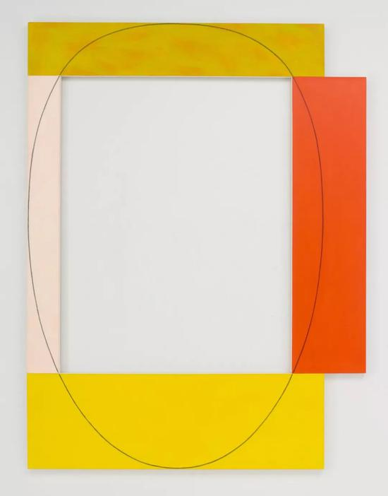 Robert Mangold 《Four Color Frame Painting #15》 1985
