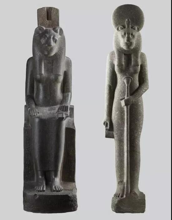 《塞克荷迈特女神像》