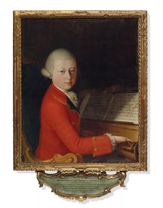 珍罕莫扎特肖像画将于佳士得上海秋拍预展亮相