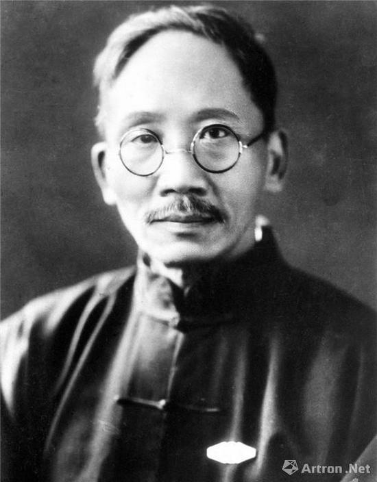 附图1。蔡元培先生(1868~1940年)