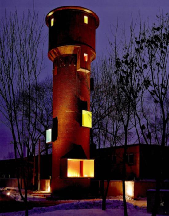 沈阳铁西区水塔展廊