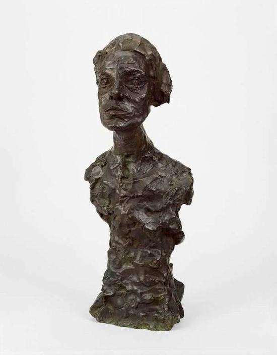 贾科梅蒂,《没有手臂的安妮塔》,1964