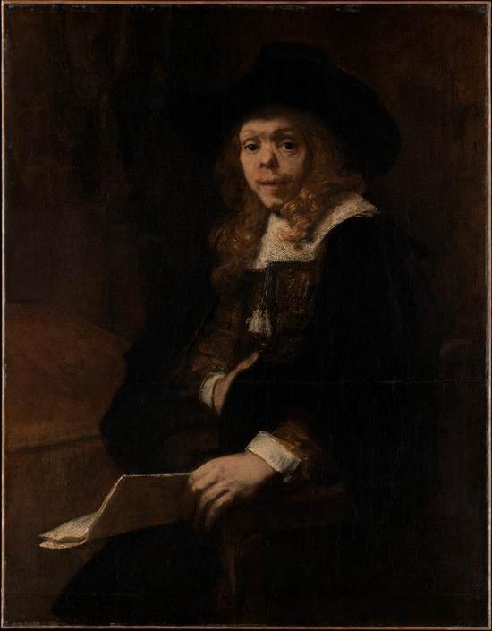 伦勃朗,《杰拉德·德·莱雷西》,1665-1667年
