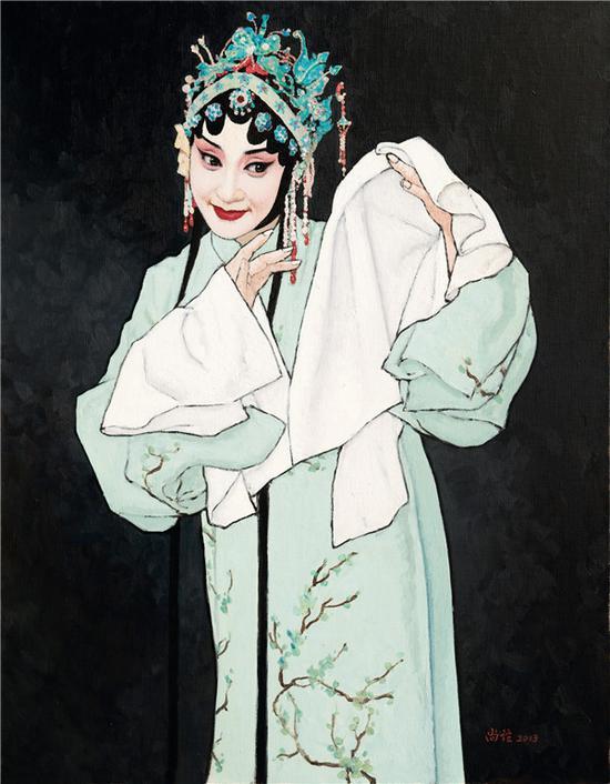 靳尚谊代表作《牡丹亭》