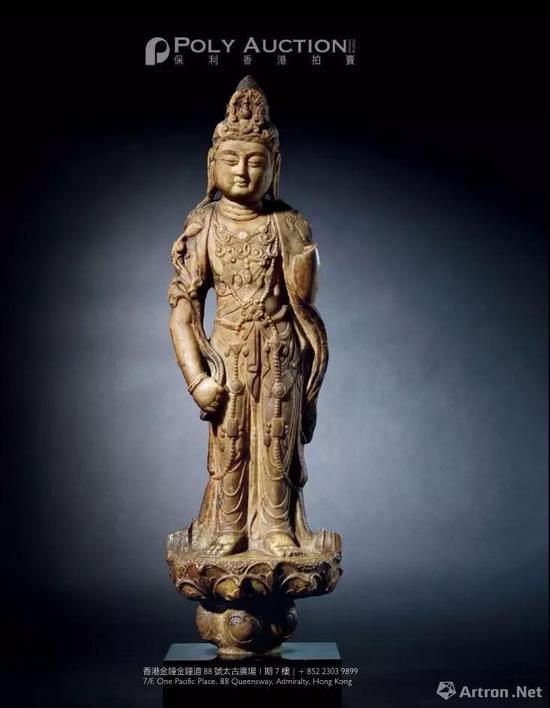 ▲大藏—雅克?巴雷尔(Jacques Barrère)家族藏重要中国古代佛教艺术