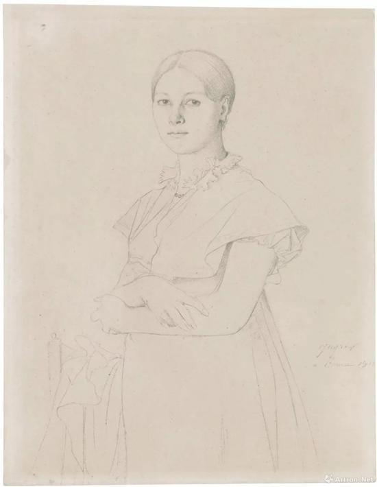让·奥古斯特·多米尼克·安格尔 (1780-1867)