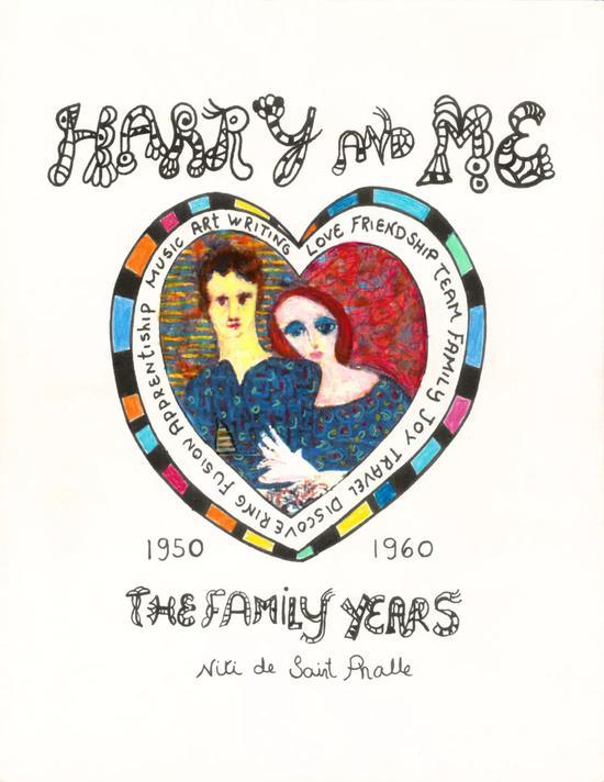 妮基·圣法勒,《Harry and Me cover》(?? 妮基慈善艺术基金会)