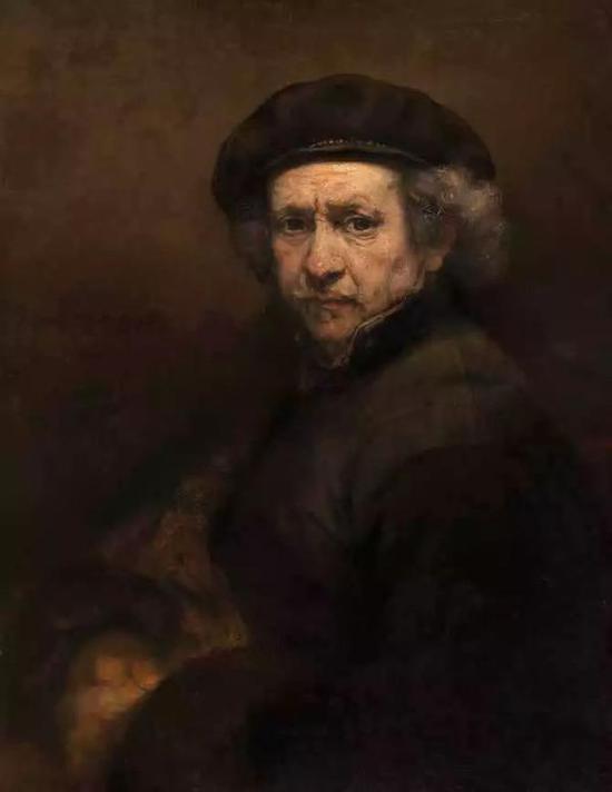 伦勃朗,《自画像》,布面油画,1659年,美国国家美术馆藏