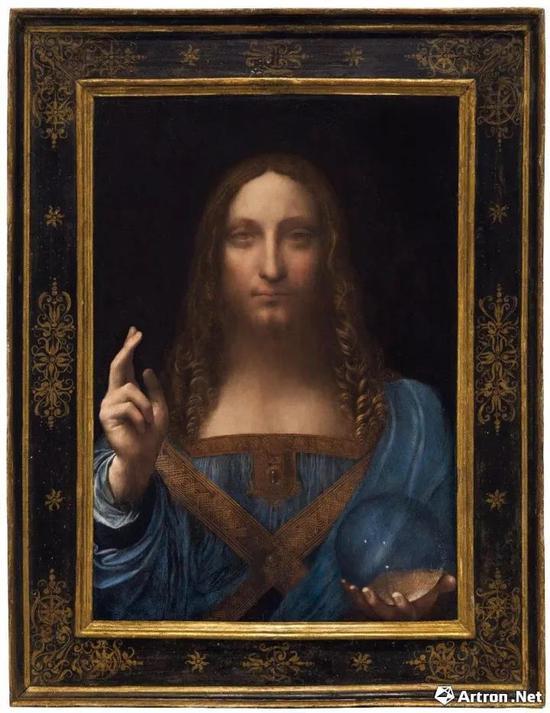 达·芬奇《救世主》 纽约佳士得 4.5亿美元成交 全球最贵艺术品