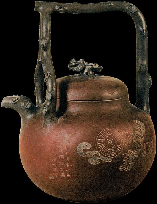 苏东坡提梁壶。