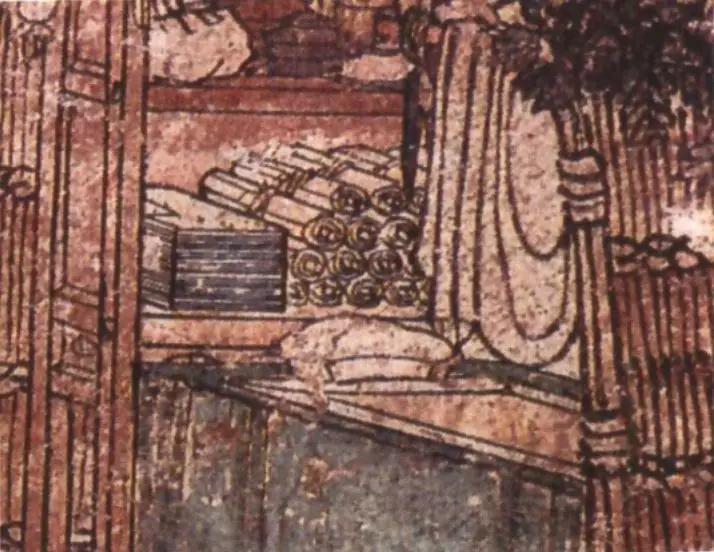 北宋开化寺壁画《鹿女本生经变》(局部)