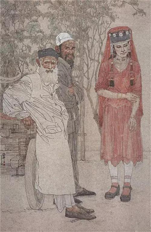《天山之春》247×160cm 2010年