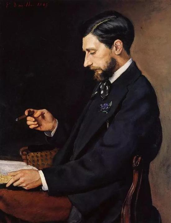 巴齐耶《埃德蒙特·梅特尔》,1869年