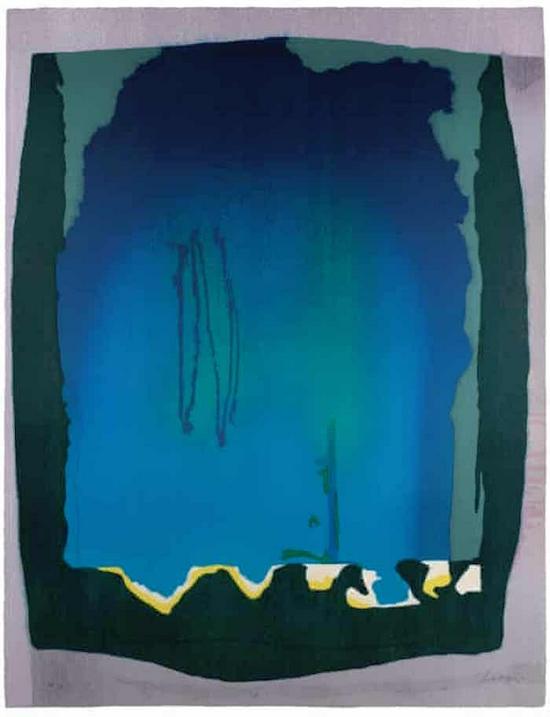 海伦·弗兰肯特尔,《Freefall》,1993年