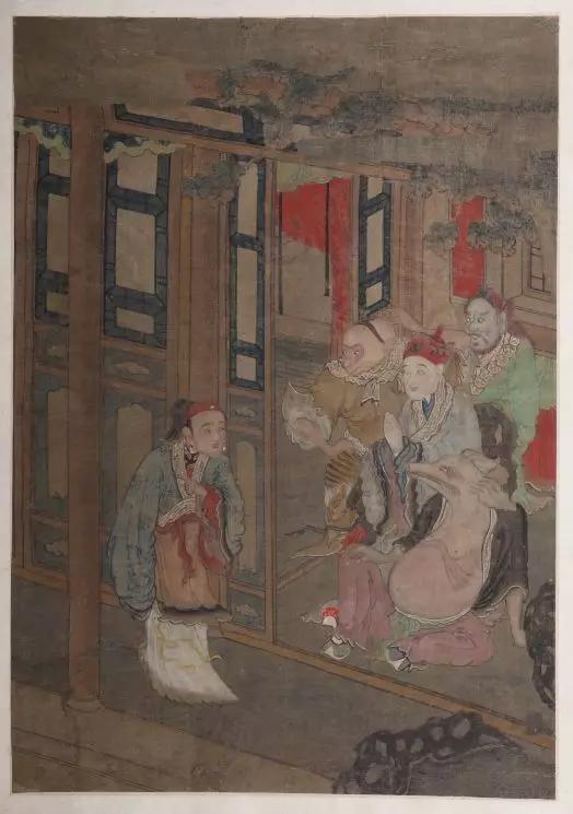 ▲《西游记》画册(部分) 清(1644年—1911年)