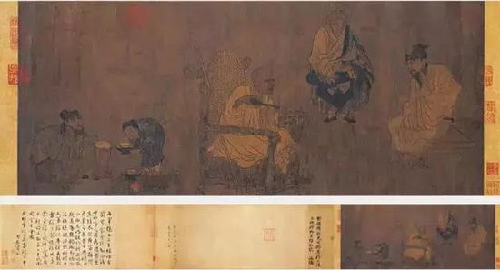 """以茶入画 以画释茶是""""茶""""画的一种境界"""