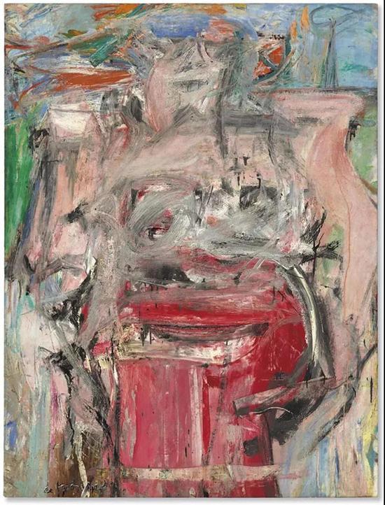 拍品编号7B威廉·德·库宁(1904-1997)