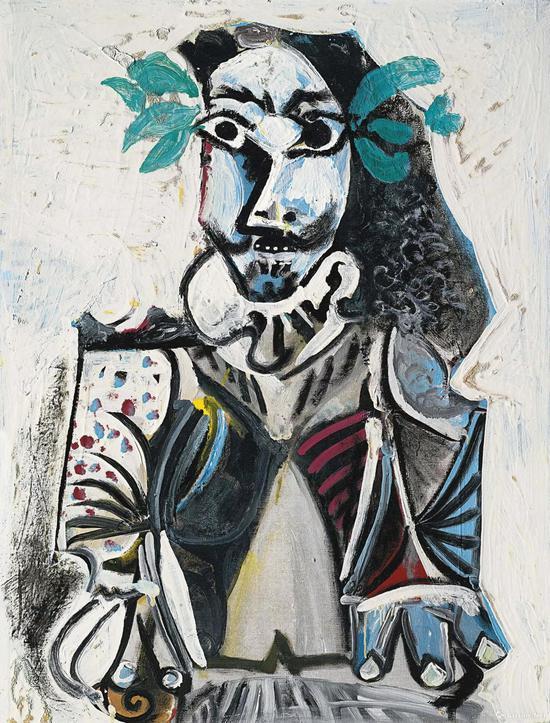 毕加索《胜利者》,成交价:6100万港元
