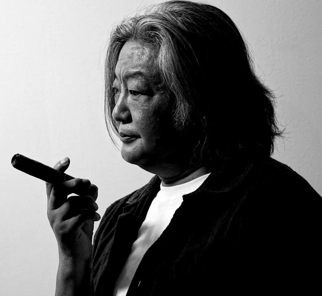 艺术家孟昌明 摄影:杨耀强