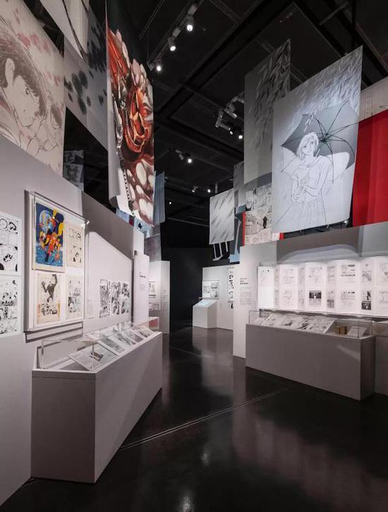 二次元文化日本漫画进入博物馆展出