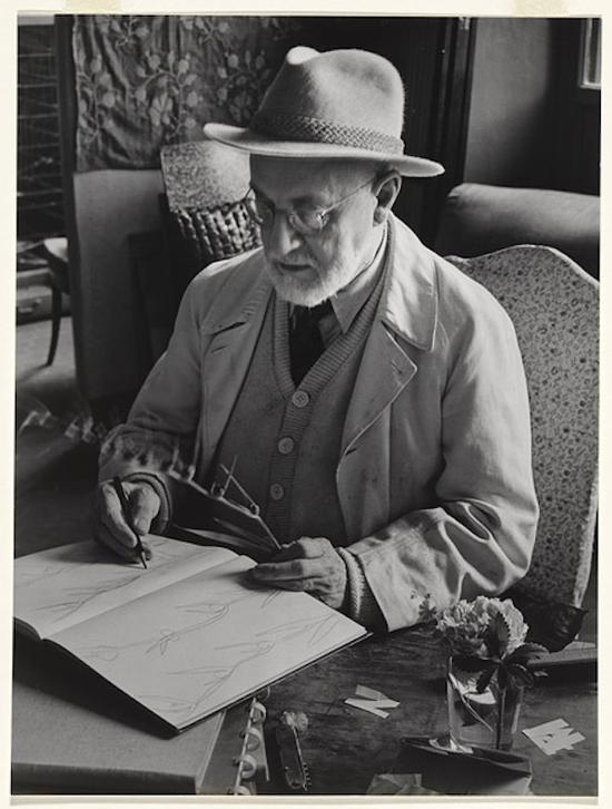毕加索对于研究马蒂斯作品
