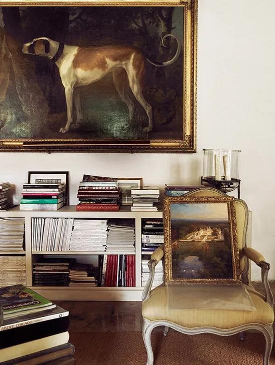 路易15时期的一起上的油画描绘的正是Givenchy 的Le Jonchet庄园