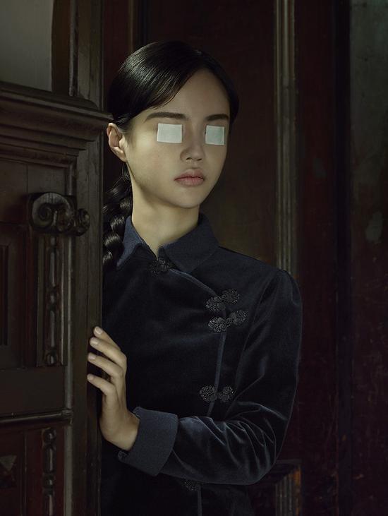 """埃文·奥拉夫,""""上海""""系列,《福1088-肖像03》,2017"""