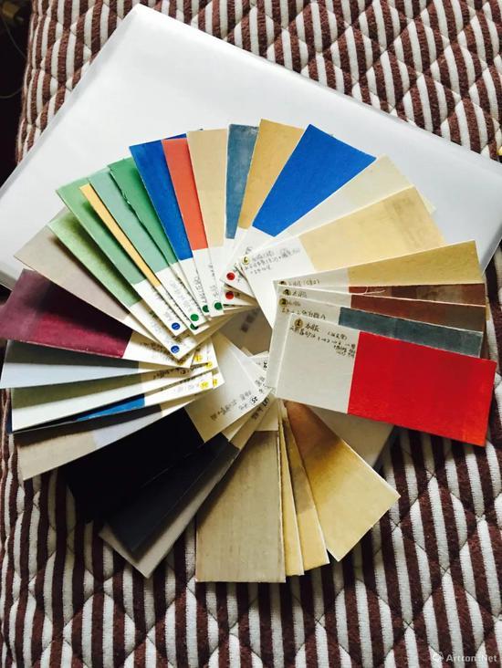 色标卡的制作