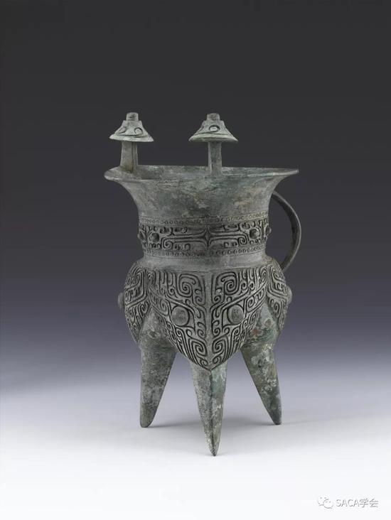 ▲ 商代中期,二里岗时期,上海博物馆藏