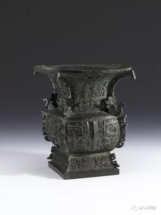 ▲癸殳方尊,西周,2.4kg,上海博物馆藏