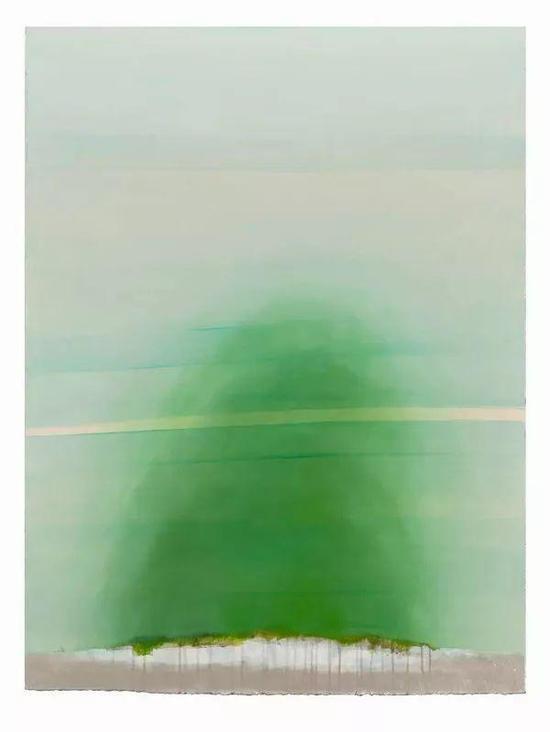 黄淼训《风景Landscape》 油彩丙烯 110x90 cm 2018 33,000 RMB