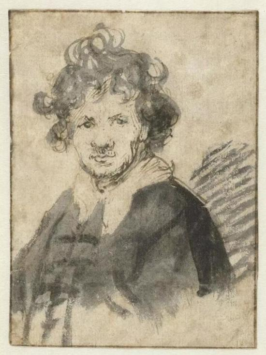 Self-portrait with Tousled Hair, c。 1628 – c.1629。