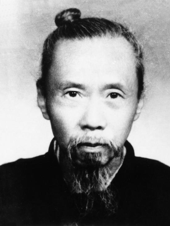 图2。谢玉岑恩师、岳父钱名山像(1875-1944年)