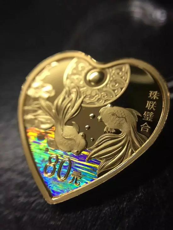 珠联璧合金银套币:2990元