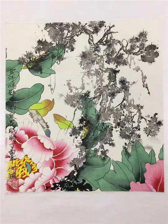 韩国前总理韩升洙收藏艺术家何颖作品