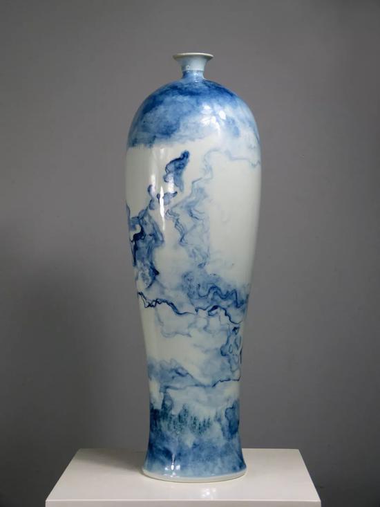 水云间系列 《中国收藏7月发表》 51x13.5cm