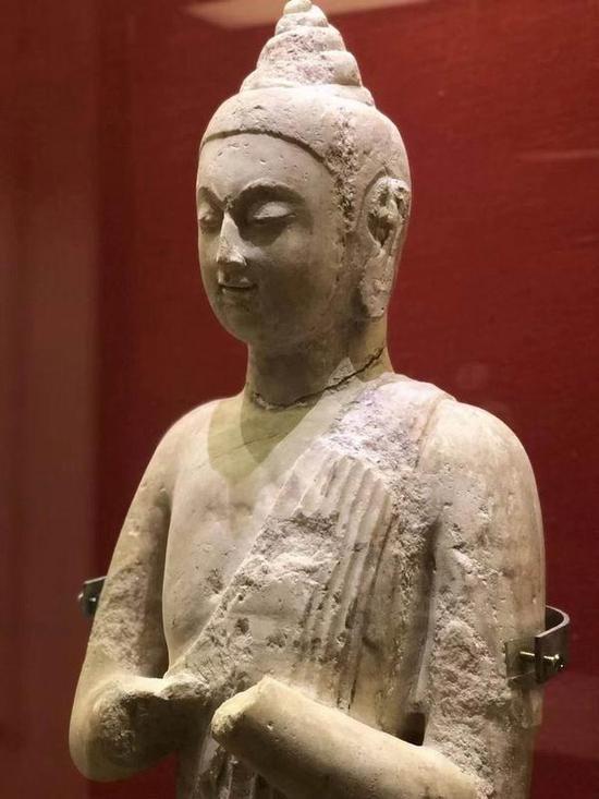 上海视觉学院文物高研班考察北朝佛像
