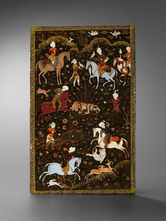 博物馆藏16世纪大不里士细密画拼图