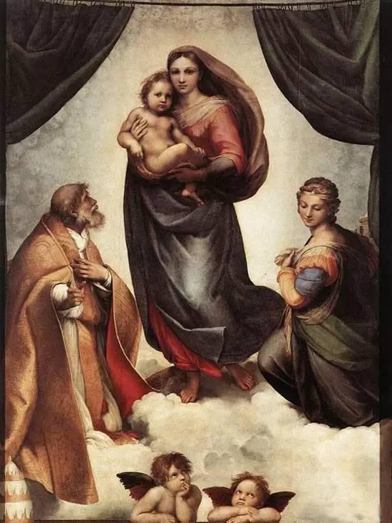 《西斯廷圣母》