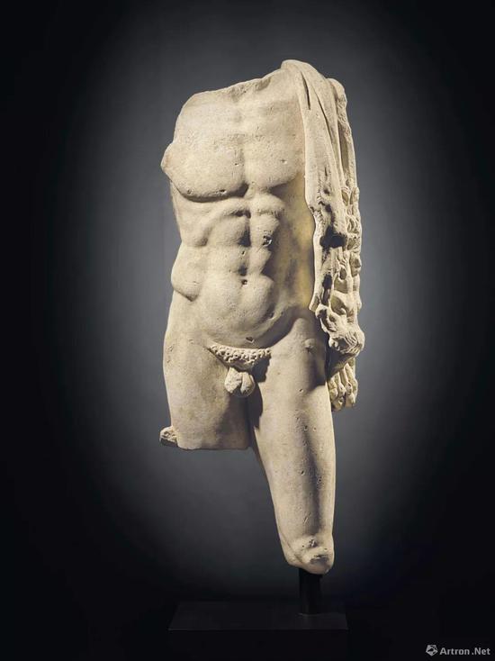 古罗马大理石海格拉斯躯干雕像