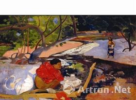 2007年刘鸾雄以3920万美元买入高更在塔希提岛画作《清晨》