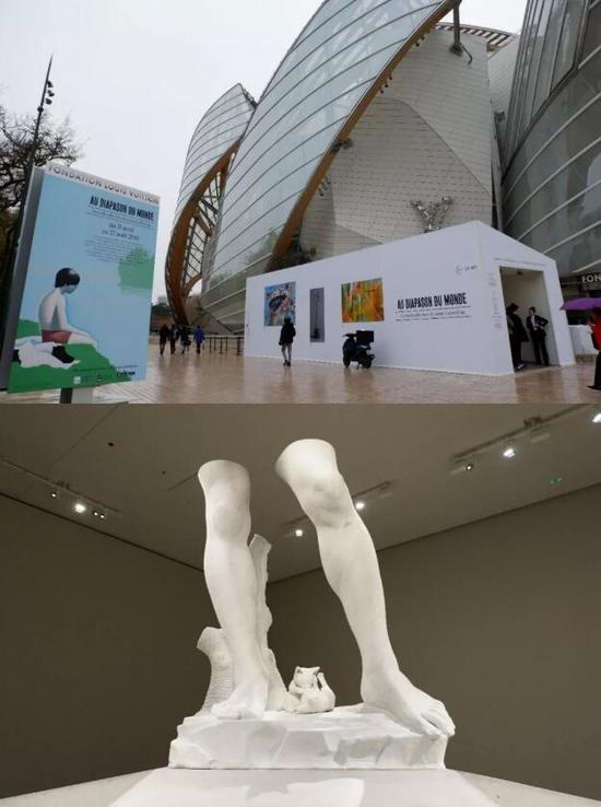 """▲ """"与世界合拍""""的展览现场,图片来源:TANC"""
